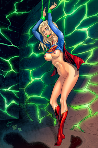 Supergirl Chained A ink copy
