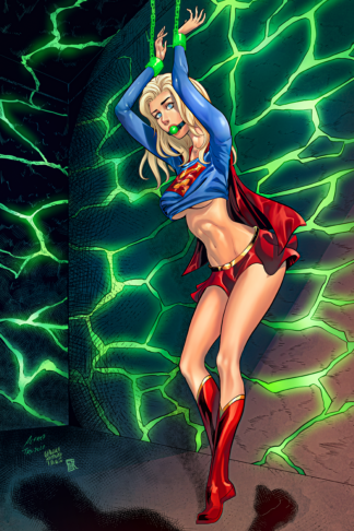 Supergirl Chained AA ink copy